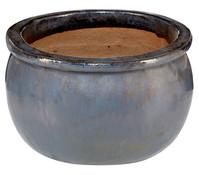 Keramiktopf Bavaria, glasiert, bauchig