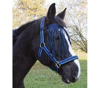 Kerbl Fliegenfransenband für Pony, Blau
