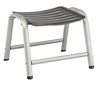 Kettler Hocker Wave, anthrazit/silber
