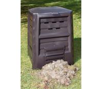 KHW Kunststoff-Komposter ohne Boden, 640 Liter