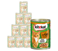 Kitekat® Adult, Nassfutter, 12 x 400g
