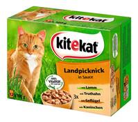 Kitekat® Landpicknick in Sauce, Nassfutter