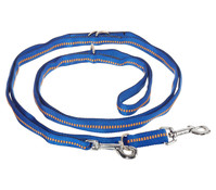 Koch Verstellbare Hundeleine, gepolstert, 300 cm, blau