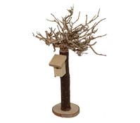 Kolbe Baum mit Vogelhaus, 16 cm