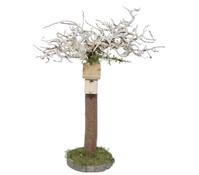 Kolbe Baum mit Vogelhaus, 20 x 6 x 12 cm