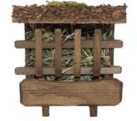 Kolbe Futterraufe mit Dach, 10 x 9 x 5,5