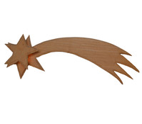 Kolbe Holzkomet, geschnitzt