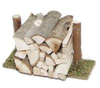 Kolbe Holzstoß geschichtet, verschiedene Größen