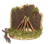Kolbe Lagerfeuer mit Beleuchtung, 4,5 V