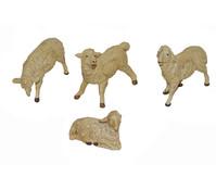 Kolbe Schafe weiß, für 10 cm Figuren, 4-teilig
