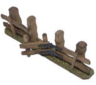 Kolbe Zaun mit Tür, verschiedene Größen