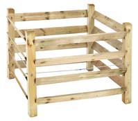 Kübler Kompostlege, Holz, 100 x 80 x 100 cm