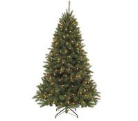 Künstlicher LED-Weihnachtsbaum Bristlecone, 185 cm, beleuchtet