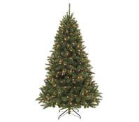 Künstlicher Weihnachtsbaum Tanne Bristlecone, beleuchtet, 230 cm