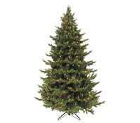 Künstlicher Weihnachtsbaum Tanne Sherwood, beleuchtet, 155 cm