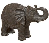 Kunstharz-Elefant