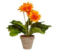 Kunstpflanze Gerbera, 35 cm