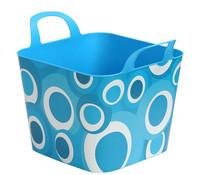 Kunststoff-Flexikorb Kreise, 30 Liter
