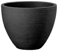Kunststoff-Topf in Riffeloptik, Ø 40 cm