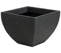 Kunststoff-Topf Stone, 40 x 40 x 31 cm, anthrazit
