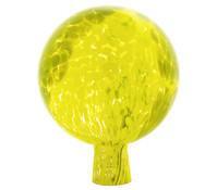 Lauscha Rosenkugel, gelb-grün, verspiegelt, Ø 15 cm