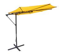 Leco Schattenspender Schirm, gelb