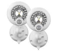 LED Scheinwerfer MB360XT mit Bewegungsmelder, 2er Pack