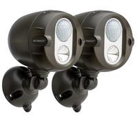 LED Scheinwerfer MBN352 Netbright mit Bewegungsmelder, 2er Pack