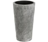 Leichtbeton-Topf, grau, Ø 28 x 50 cm
