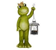 Magnesia-Frosch mit Laterne, grün/grau