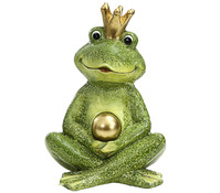 Magnesia-Froschkönig mit Krone