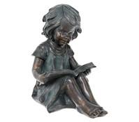 Magnesia-Mädchen mit Buch