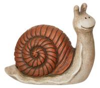 Magnesia-Schnecke, braun, 26 x 13 x 22 cm