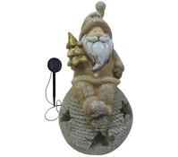Magnesia Weihnachtsmann auf Kugel 46 x 24 x 27 cm