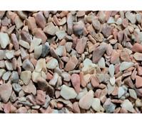 Marmor-Zierkies, 22-40 mm, rose-bunt, 25 kg