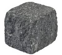 Mauerstein Siola®-Kombi, schwarz, 12,5 x 12,5 x 12,5 cm