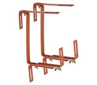 Metall-Blumenkastenhalter für den Balkon, 2 Stück