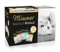 Miamor Ragout Royal, Nassfutter, 12x100g