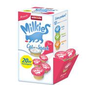 Milkies Snack-Kaspeln, Vorratspack, Katzensnack 20 x 15g