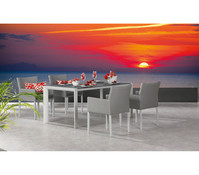 Möbelgruppe Tobago/Barolo, creme, 5-teilig