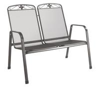 MWH Metall-Bank Savoy, 2-Sitzer, 94 x 106 x 76 cm