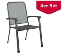 MWH Stapelsessel Ralo, 4er Set