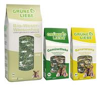 Naturhof Schröder Grüne Liebe H+S, Nagersnack, 3er Set