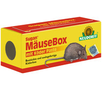 Neudorff Sugan® MäuseBox mit Köder Paste