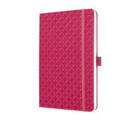 Notizbuch Jolie fuchsia pink, 20,3 x 13,5 x 1,6 cm