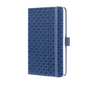 Notizbuch Jolie indigo blue, 15 x 9,5 x 1,6 cm