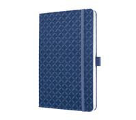 Notizbuch Jolie indigo blue, 20,3 x 13,5 x 1,6 cm