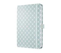 Notizbuch Jolie Pastel Blue, 20,3 x 13,5 x 1,6 cm