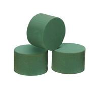 Oasis Steckschwamm Zylinder frisch, grün, 80 x 50 mm, 3 Stück