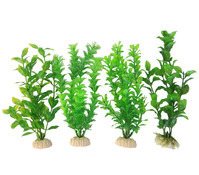 Orbit Kunstpflanzen Standard, grün, 4er-Pack